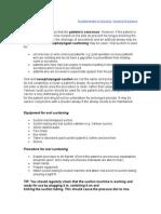Fundamentals in Nursing