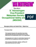 Hazard Risk Identification