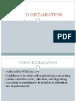 Tokyo Declaration