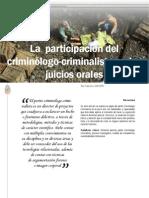 02 La Participacion Del Criminologo-criminalista en Los Juicios Orales
