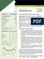 Valorizacion de Empresas Ferreycorp 21Mar13 Kallpasab