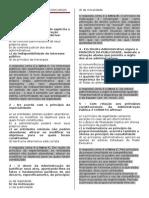 EXERCICIO 1 Administrativo Com Respostas