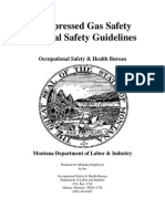 Compressed Gas Safety Guidelines