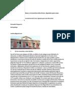 Participación Ciudadana y Reconstrucción Liceo