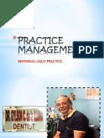Practice Management Report