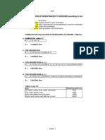Calculo Pozo PAT Green Book