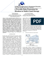 Cooperative Provable Data Possession for Integrity Verification in Multi-Cloud Storage