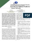 Data Aggregation in Reverse Multicast Traffic for Sensor Networks