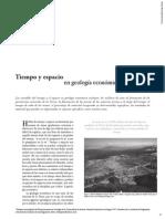 21-Tiempo y Espacio en Geología Económica