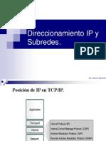 IP y Sub Redes