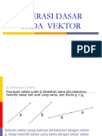 2 Operasi Dasar Pada Vektor1