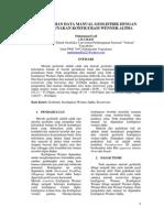 Pengolahan Data Manual Geolistrik Metode Resistivity Konfigurasi Wenner