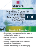 Handling Customer Complaints and Managing Service Recovery