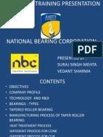 Industrial Training Presentation nbc
