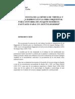 Influencia de La Vihuela y La Guitarra Barroca en La Obra Orquestal Joaquin Rodrigo