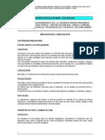 ESPECIFICACIONES TÉCNICAS - DRENAJE PLUVIAL Y OBRAS DE ARTE.doc