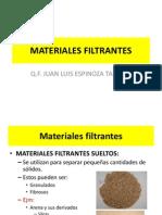 Materiales Filtrantes - Opu- Unid 2014-i
