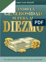 Enrique Luis Ruloff - Cuando La Generosidad Supera Al Diezmo