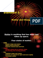 standard 3 pp student notes - matter and change