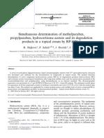 Simultaneous determination of methylparaben + propylparaben + hidrocortisone  topical cream.pdf