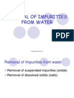 Removal of Impurities