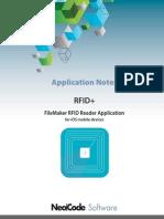RFID+ Reader iOS Application Notes