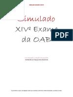 Simulado 2014 XIV OAB
