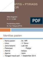 tinea kapitis tipe kerion + ptiriasis vesikolor