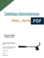 Catálogo Herramientas Ken Tool Correos