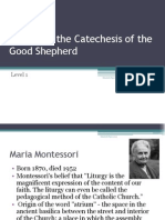history of the catechesis of the good shepherd