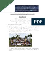 Projeto Mãos Que Ajudam o Meio Ambiente 2014