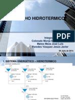 Tarea 6 Despacho Hidrotermico
