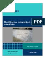 Identificacao e Tratamento de Patologias Em Edificios