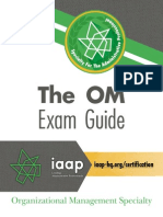 Om Exam Guide