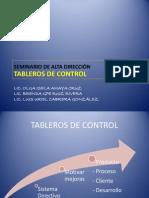 Presentación Tableros de Control