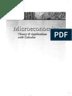 Microeconomics and Calculus