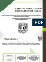 Material Compuesto de Plástico-madera Evaluado Por Medio Del