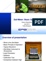 Zed-Meter Basic Operation