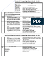 sept 22-26 2014 weekly happenings