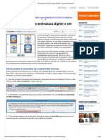 Como Adicionar Uma Assinatura Digital a Um Documento Word
