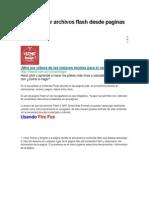 Como bajar archivos flash desde paginas web.docx