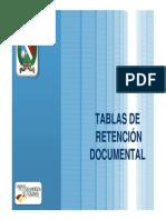 Elaboracion y Aprobacion Tablas de Retencion Documental