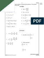 JUJ Pahang 2014 Add Math SPM K1 Set 1