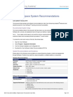 NetSpace System Recommendations