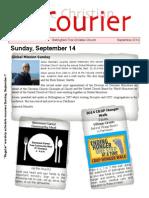 September 2014 Courier