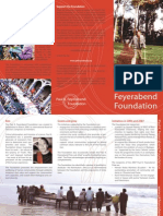 Paul K. Feyerabend Foundation Brochure