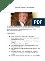 Arquitectura Peruana en La Actualidad