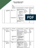 Year Four Science Scheme of Work 2007