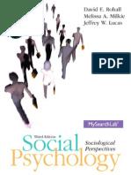 Social Psychology 3e
