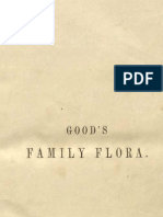 """Vintage Printable E Book, """"Good's Family Flora"""" (1845), entire book, colored illustrations (engravings) and text"""